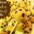 No Bake Cookie Dough Balls