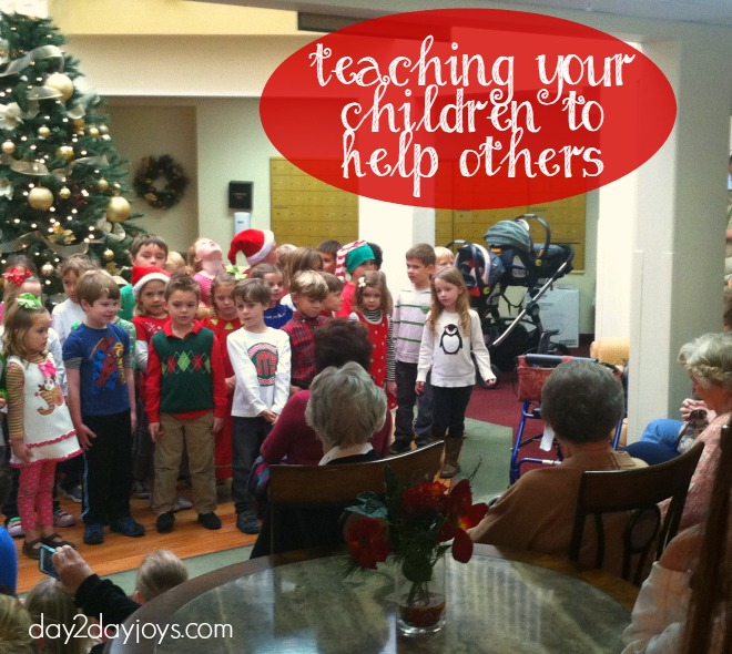 Teaching your Children to Help Others