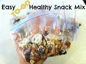 Easy To-Go Healthy Snack Mix