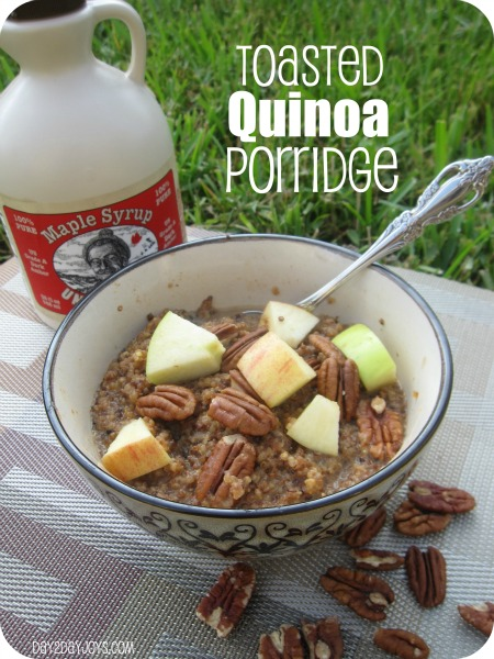 Toasted Quinoa Porridge