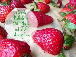 3 Simple Methods to Save Money and Stop Wasting Food