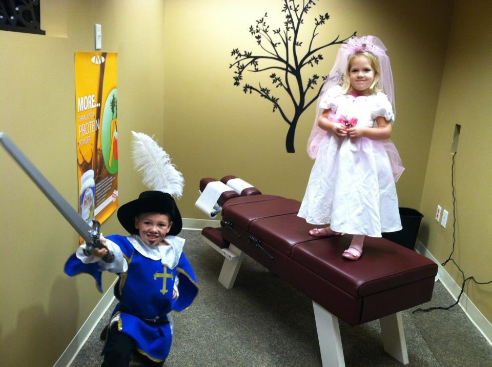 My kids were a knight and a rosebud princess last year