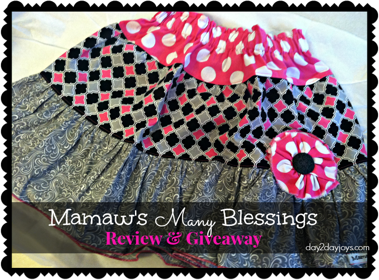 Mamaw's Many Blessings Review & Giveaway