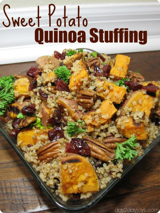 Sweet Potato Quinoa Stuffing