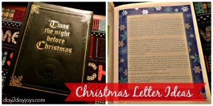 Christmas Letter Ideas