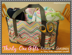 Thirty-One Gifts Review & Giveaway