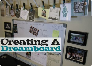 Creating a Dreamboard For The New Year