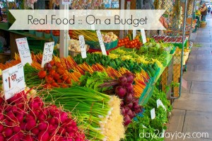 Real Food on a Budget