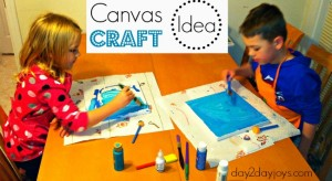 Canvas Craft Idea