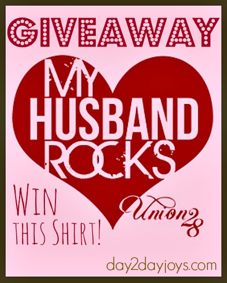My Husband Rocks GIVEAWAY
