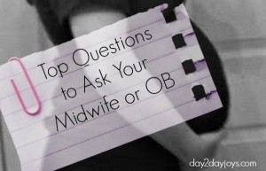 Top Questions to Ask Your Midwife or OB