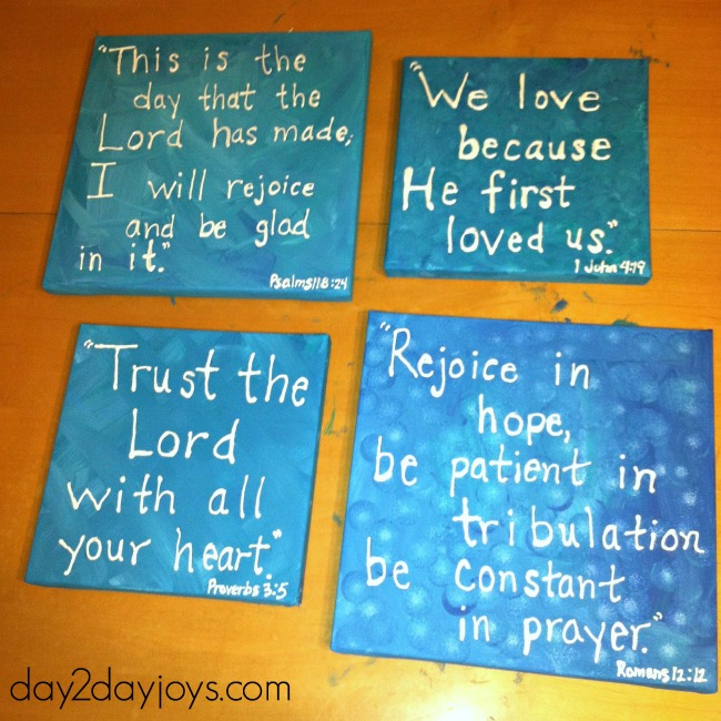 canvas paint with scripture