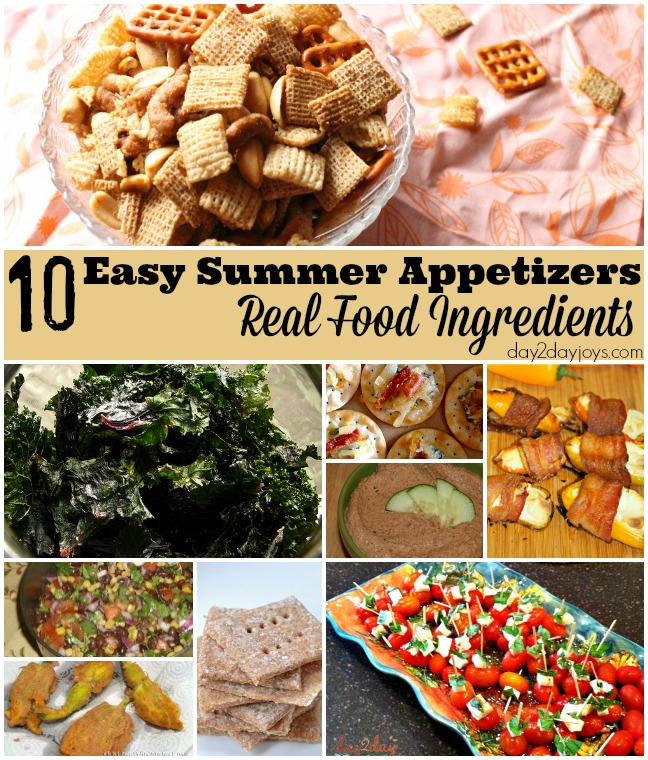 Summer appetizers recipes easy