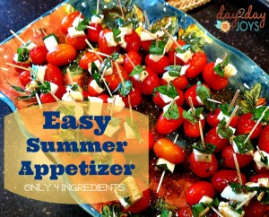 Easy Summer Appetizer {Plus 10 Other Recipes}