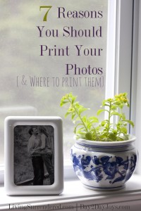 7 Reasons Why You Should Print Your Photos {and where to do it}
