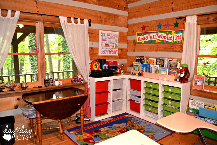 School Room Reading Corner & Trofast System