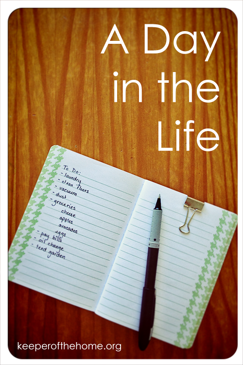 A Day in the Life (A busy Mom's Day)