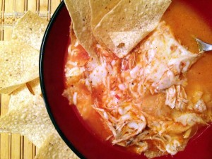 Chicken Tortilla Soup With A Kick