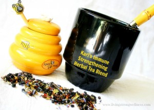 Immune Strengthening Herbal Tea Blend
