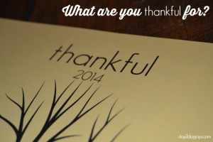 Thankful {A Printable for Giving Thanks}