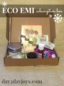 12 Days of Christmas {Day 7: Eco Emi Subscription Box}