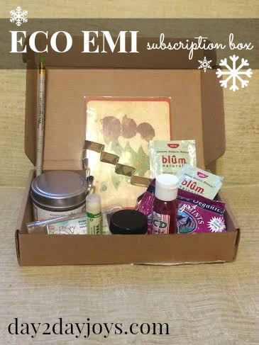Eco Emi Is A Box Subscription Service That Features Friendly Gifts For The Whole Family Single Bo Can Be Purchased And Gifted