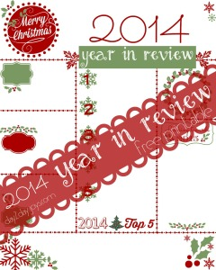 Christmas Letter {2014 Year in Review Printable}