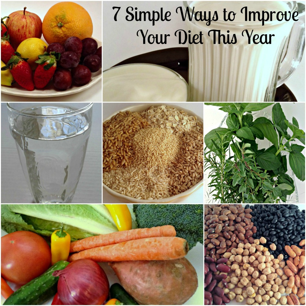 7 Simple Ways to Improve Your Diet This Year