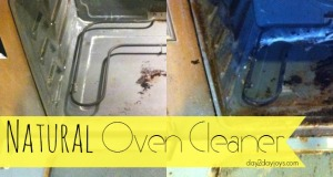 Natural Oven Cleaner… Easy as 1, 2 & 3!!