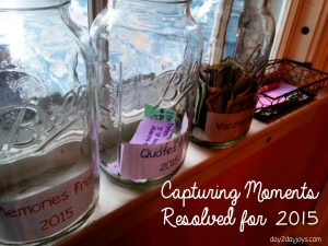 Capturing Moments, Resolved