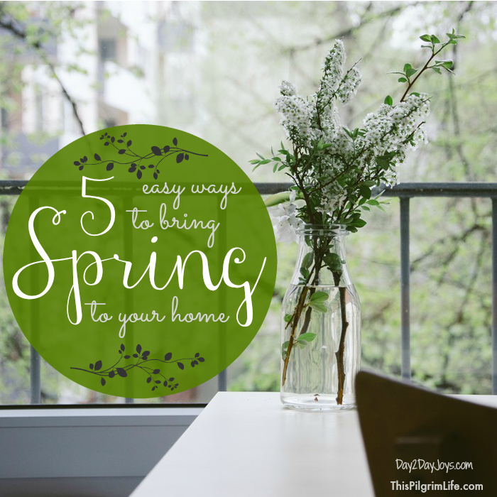 5 Easy Ways to Bring Spring to Your Home