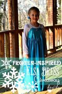 Frozen-Inspired Elsa Dress Giveaway