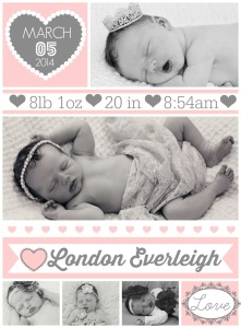 The Birth Story of London Everleigh {Part Three}