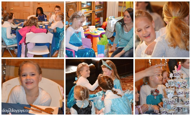 Lots of FROZEN Birthday Party Ideas