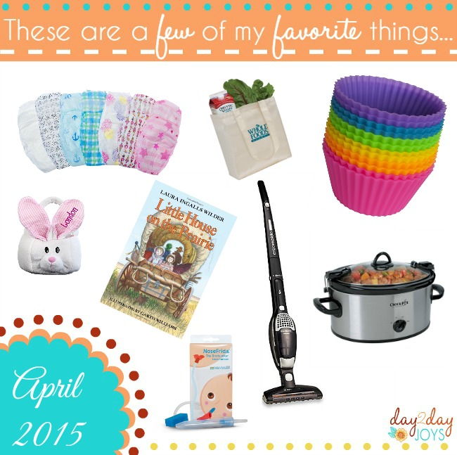 A few of my favorite things {April 2015}