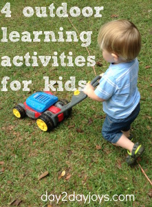 4 Outdoor Learning Activities for Kids