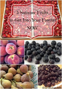 5 Summer Fruits to Get Into Your Freezer NOW