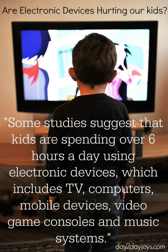 Are Electronic Devices hurting our kids