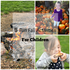 Five Fun Fall Activities For Children