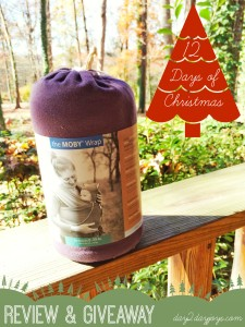 12 Days of Christmas {Day 9: Moby Wrap}