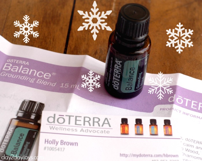 doTERRA Balance Review Giveaway card