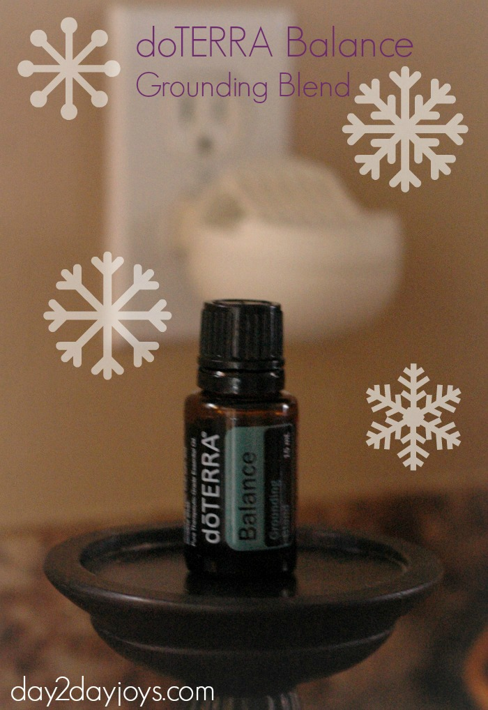 doTERRA Balance Review Giveaway diffuse