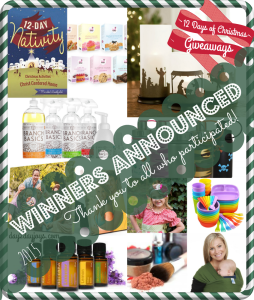 12 Days of Christmas {Winners Announced}
