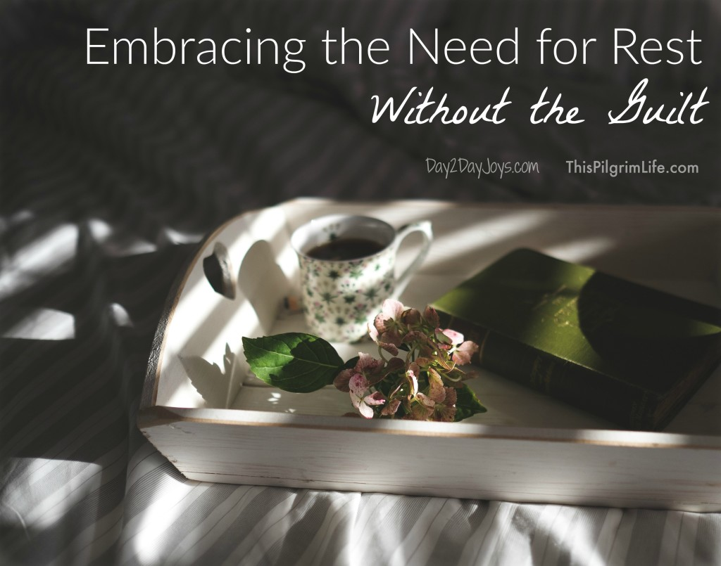 Embracing the Need for Rest