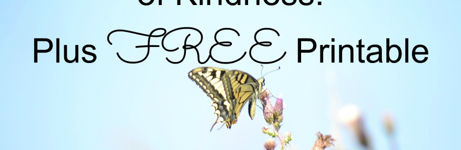 5 Random Acts of Kindness: Plus Free Printable