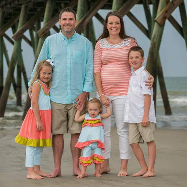 family beach photo 2015