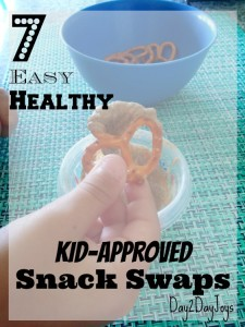 7 Easy Healthy Kid-Approved Snack Swaps