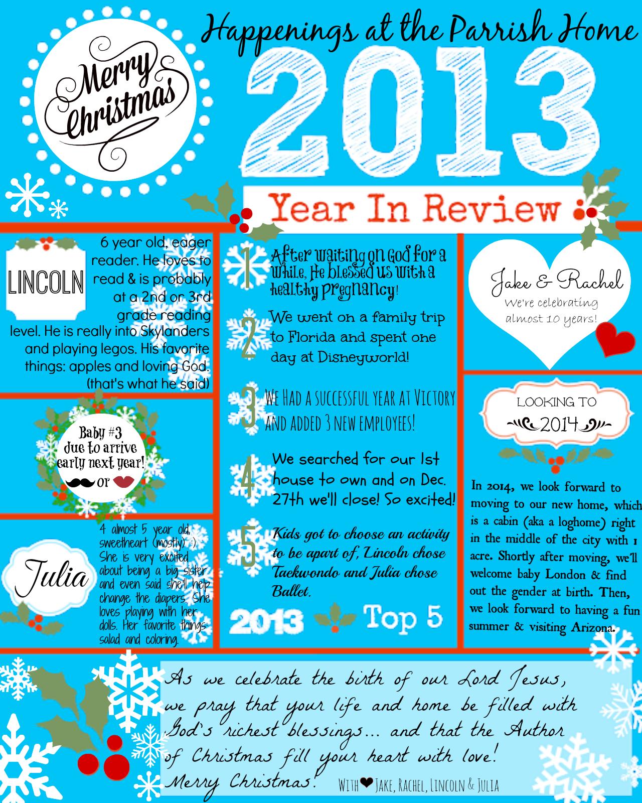 Christmas Letter Ideas Day2Day Joys